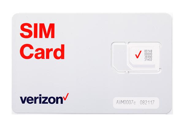 Verizon LTE-M1 Data Tri-Cut 2FF/3FF/4FF IoT SIM Cards