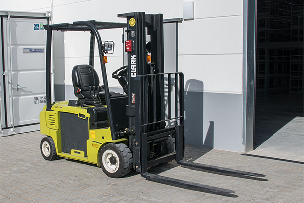 fork lift asset tracking