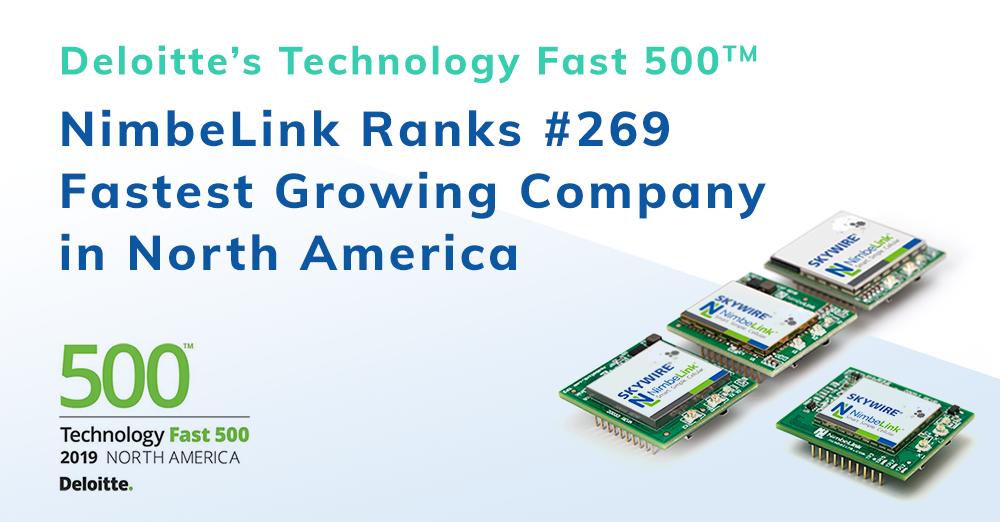 2019 Fast 500 NimbeLink Ranks 269